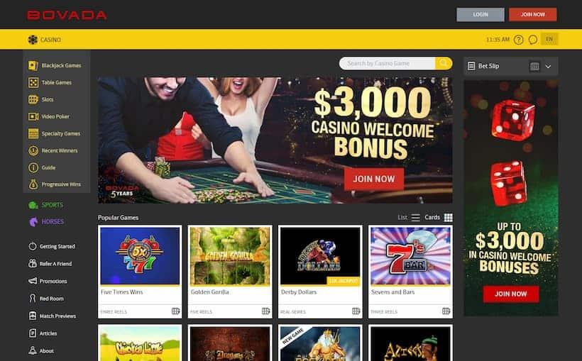 Bovada Bitcoin Casinos image
