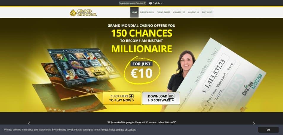 grand mondial casino en ligne canadA