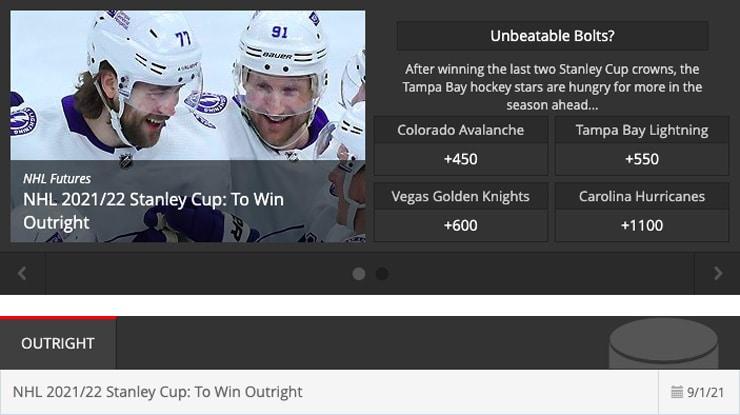 Intertops Best New Sports Betting Sites Hockey
