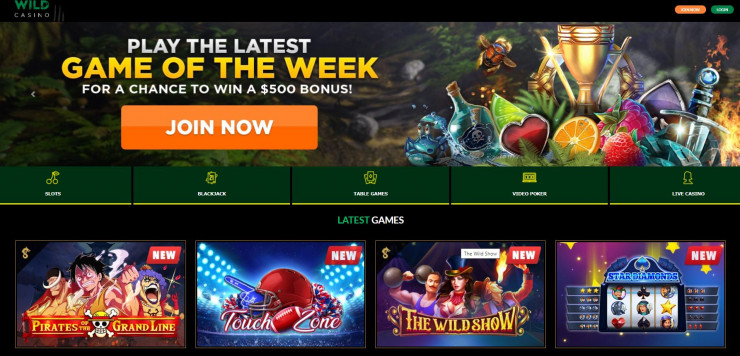 wild casino juegos casino en linea gratis