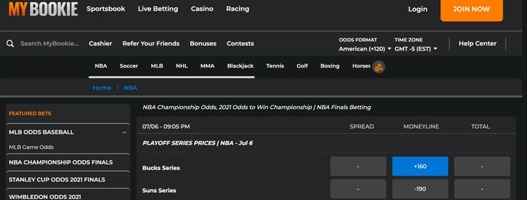 MyBookie – NBA Betting Site that Boasts Great Odds