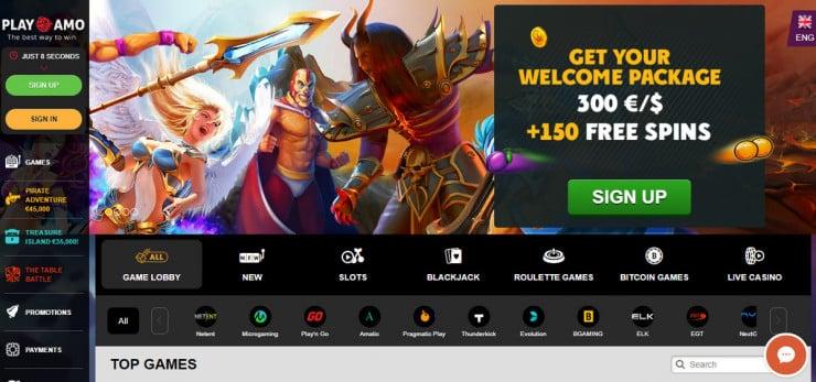 playamo casino en ligne canadien