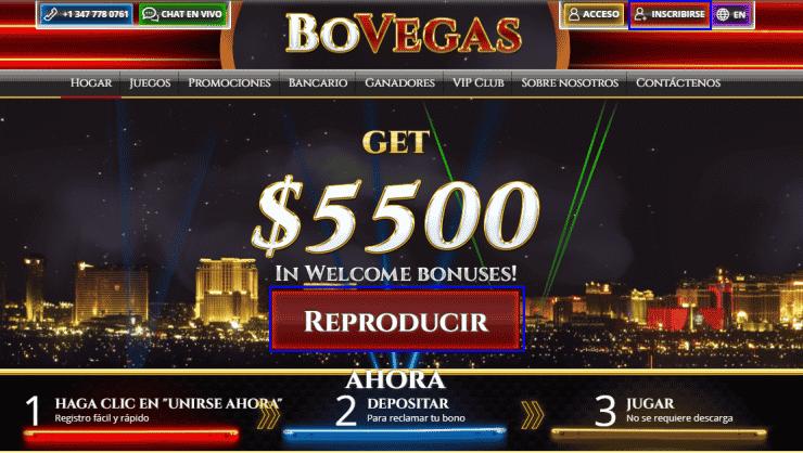 abrir cuenta bovegas casino en línea