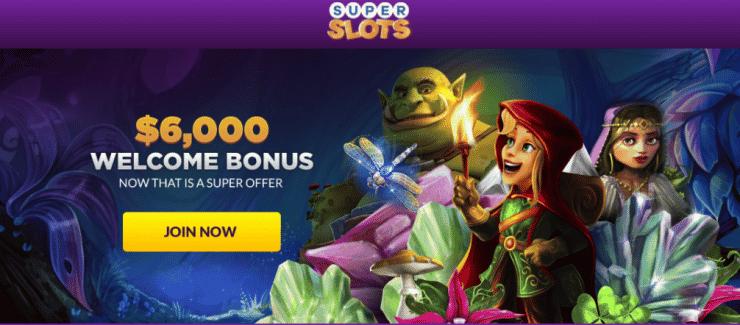 superslots casino bonus usa