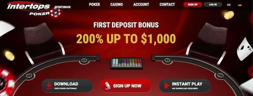 Intertops Best Caribbean Stud Poker Casinos image