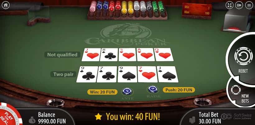 Bovada Top Caribbean Poker Casinos image