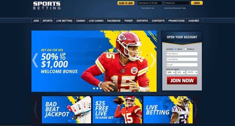 Sportsbetting.ag Best Bitcoin Betting sites image