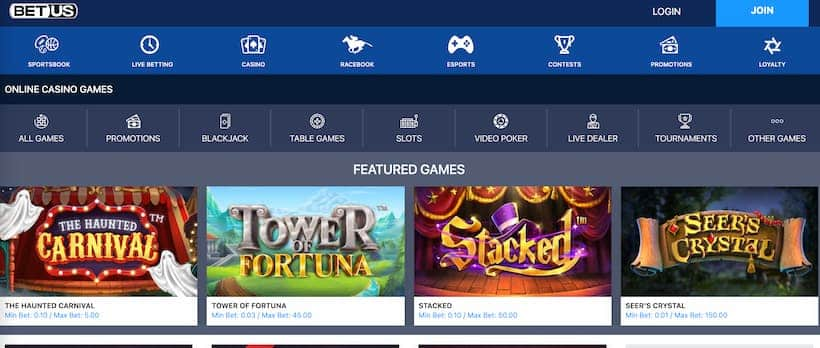 betus-casino-featured-games-page