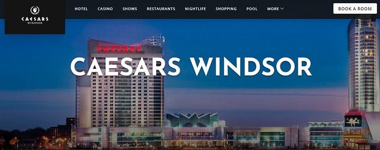 Caesars Windsor, one of the best casinos in Ontario