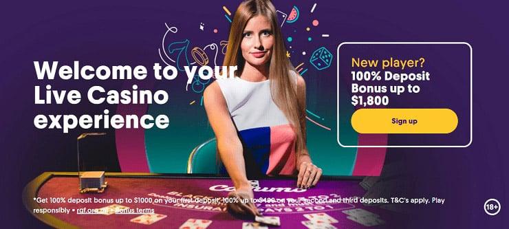 Online gambling in Canada at Casumo