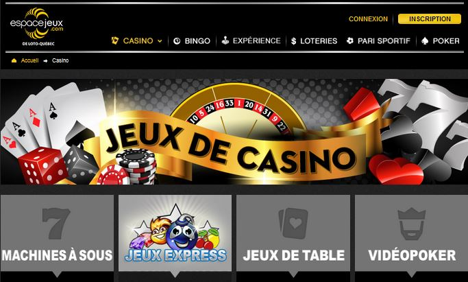 casino espace jeux quebec