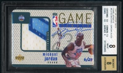 Michael Jordan's signed patch card sells for $2.7 million