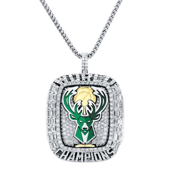 Milwaukee Bucks reveal their fancy 2021 NBA Finals championship rings