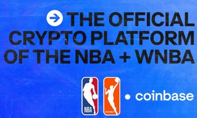 NBA agrees to first cryptocurrency sponsorship deal with Coinbase