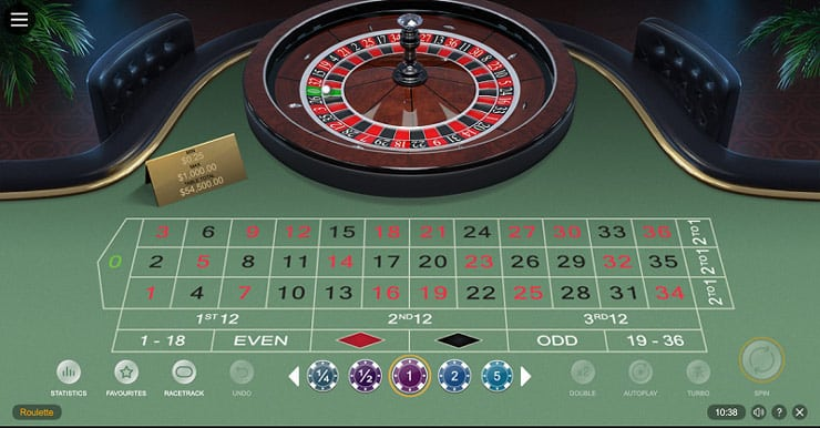 An example of a online casino game: Roulette