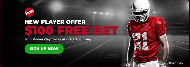 Power Play's free bet bonus for sports betting in Yukon