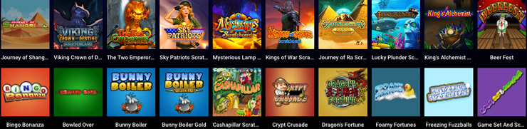 Instant win games at Ontarian Casinos Online