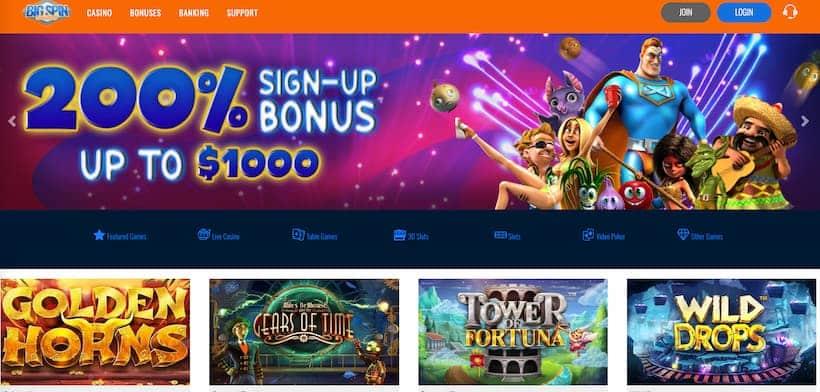 bigspin-casino-main-page