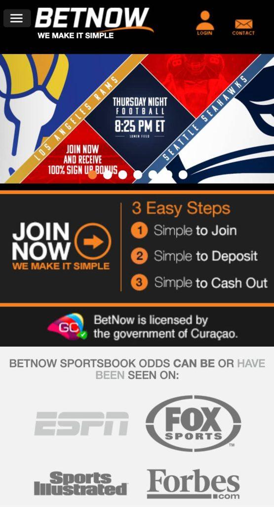 BetNow Sports Betting App
