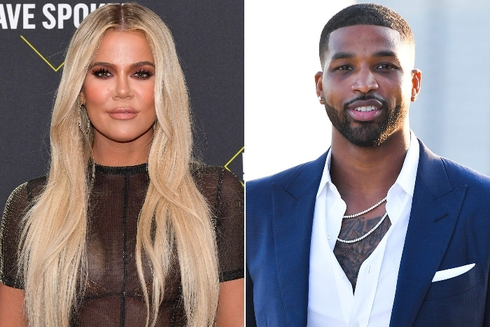 Tristan Thompson gushes over Khloe Kardashian's abs of steel
