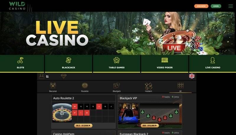 Wild Casino Live Review