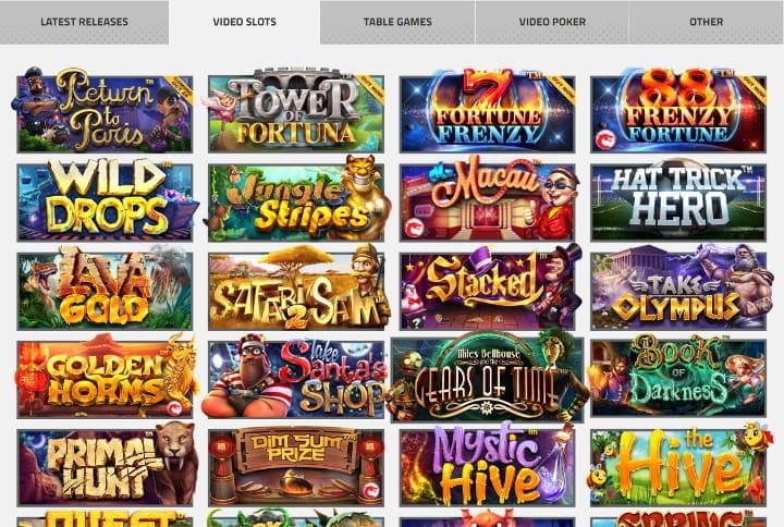 betsoft casino slots