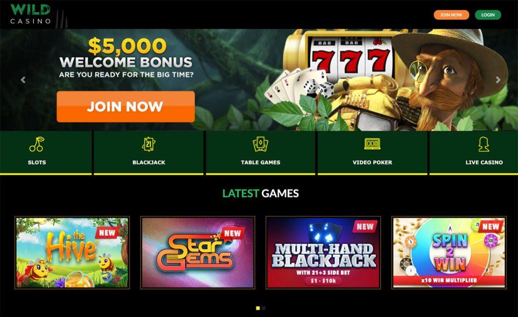 wild casino arizona sign up